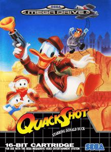 Постер Quackshot Starring Donald Duck & Castle of Illusion Starring Mickey Mouse