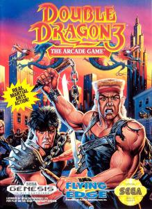 Постер Double Dragon III: The Sacred Stones
