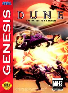 Постер Dune: The Battle for Arrakis