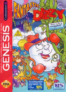 Постер The Fantastic Adventures of Dizzy