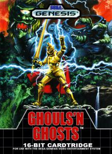 Ghouls 'N Ghosts (Arcade, 1989 год)