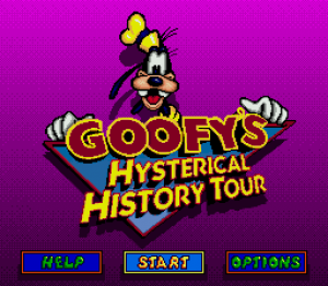 Goofy's Hysterical History Tour