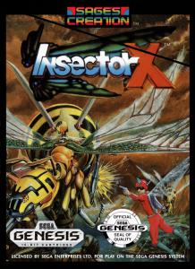 Insector X (Arcade, 1990 год)