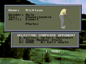 Jack Nicklaus' Power Challenge Golf