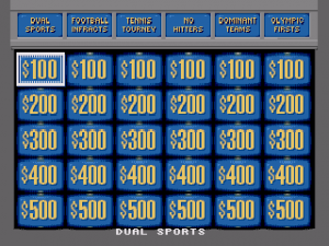 Jeopardy! Sports Edition
