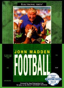 John Madden Football (Sports, 1990 год)