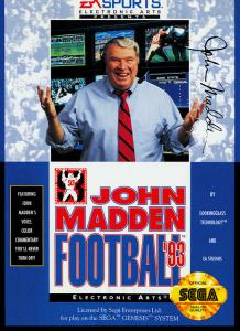 Постер John Madden Football '93
