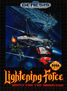 Постер Lightening Force: Quest for the Darkstar