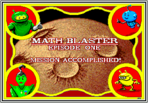 Math Blaster: Episode One - In Search of Spot