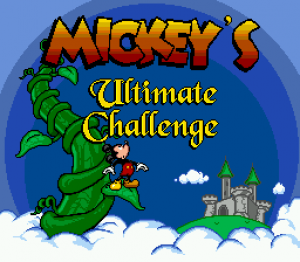 Mickey's Ultimate Challenge