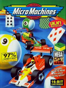 Micro Machines (Racing, 1993 год)