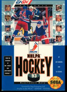 NHLPA Hockey '93 (Sports, 1992 год)