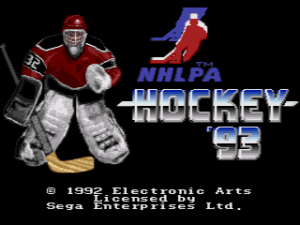 NHLPA Hockey '93