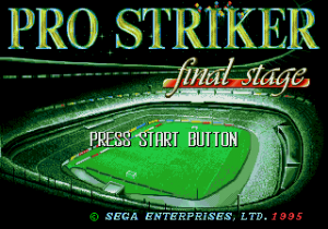 Pro Striker: Final Stage