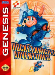 Постер Rocket Knight Adventures