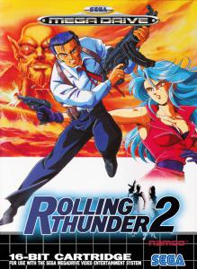 Rolling Thunder 2 (Arcade, 1991 год)