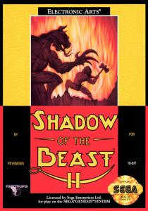Постер Shadow of the Beast II