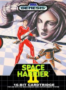 Space Harrier II (Arcade, 1989 год)