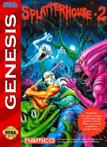 Постер Splatterhouse 2