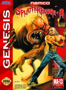Постер Splatterhouse 3