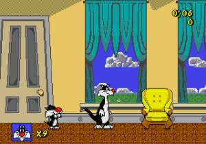 Sylvester and Tweety in Cagey Capers