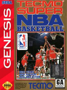Постер Tecmo Super NBA Basketball