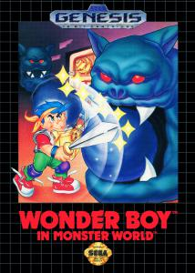 Постер Wonder Boy in Monster World