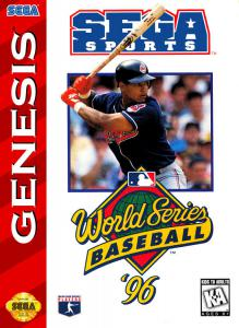 Постер World Series Baseball '96