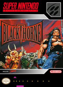 Постер Blackthorne для SNES