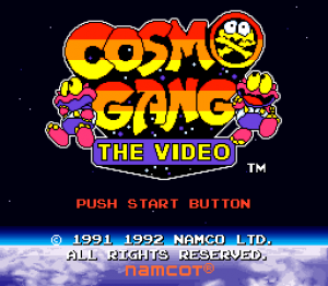 Cosmo Gang: The Video