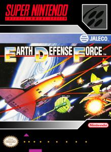 Earth Defense Force (Arcade, 1991 год)
