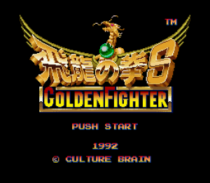 Golden Fighter - Hiryu No Ken S