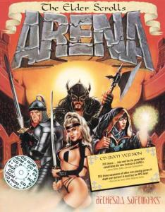 Постер Elder Scrolls, The Arena Deluxe