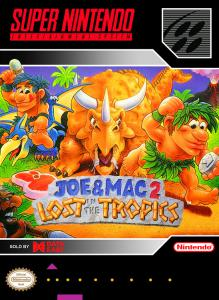 Joe & Mac 2: Lost in the Tropics (Arcade, 1994 год)
