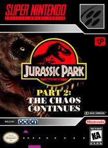 Постер Jurassic Park Part 2: The Chaos Continues