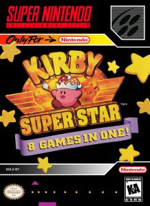 Постер Kirby Super Star
