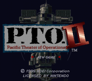 P.T.O.: Pacific Theater of Operations II