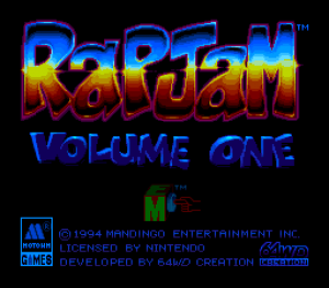 RapJam: Volume One