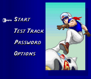 Speed Racer in My Most Dangerous Adventure