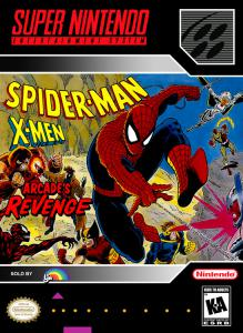 Постер Spider-Man X-Men: Arcade's Revenge