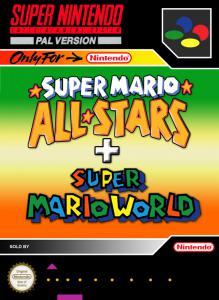 Постер Super Mario All-Stars + Super Mario World