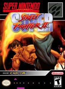 Постер Super Street Fighter II