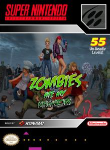 Постер Zombies Ate My Neighbors