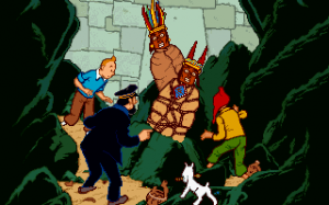Adventures of Tintin - Prisoners of the Sun, The