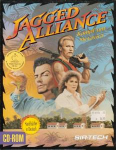 Постер Jagged Alliance