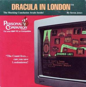 Dracula in London (Adventure, 1988 год)
