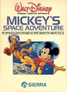Mickey's Space Adventure (Adventure, 1986 год)