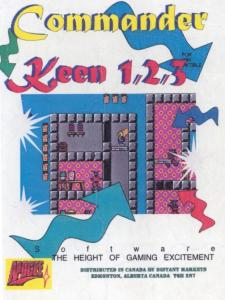 Постер Commander Keen 1: Marooned on Mars