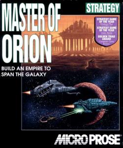 Master of Orion - русская версия (Strategy, 1993 год)