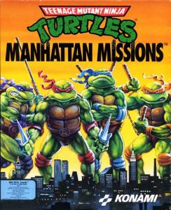 Teenage Mutant Ninja Turtles 3: Manhattan Missions (Arcade, 1991 год)
